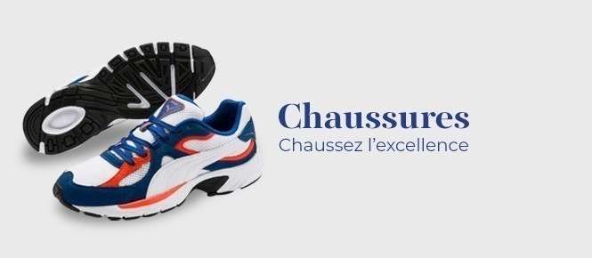 Chaussures homme PUMA chaussez l'excellence