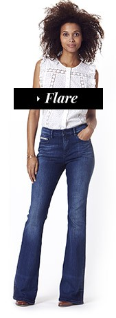 jean femme flare