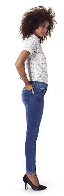 jean femme skinny