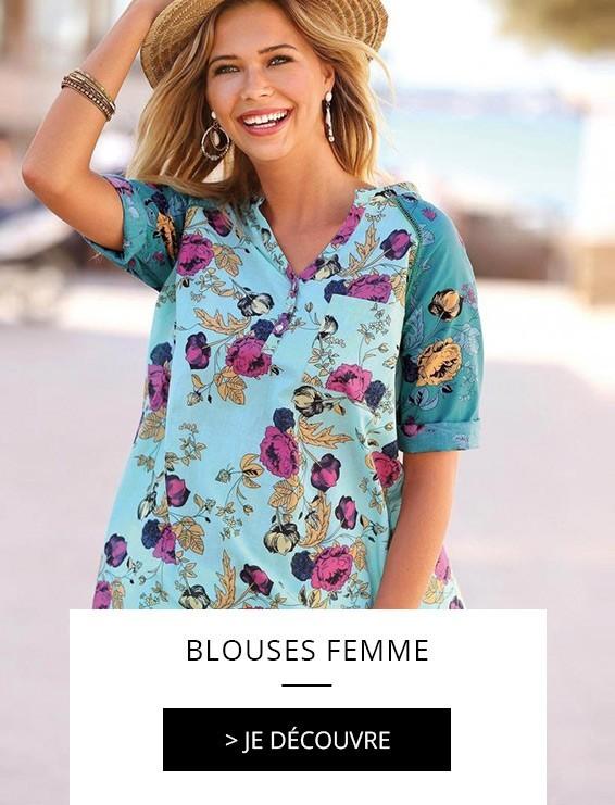 f3ba0b67ae6 Découvrez notre sélection de blouses femme !