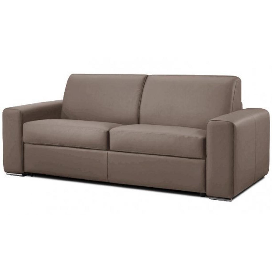 canap convertible en cuir julot cuir 3suisses. Black Bedroom Furniture Sets. Home Design Ideas