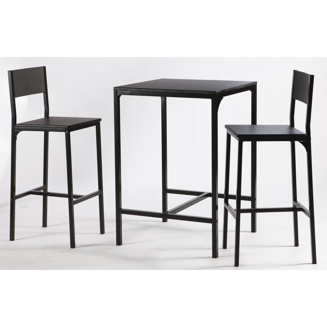 Suisses Funky3 Haute Chaises Table Avec 2 m8Nvn0wO