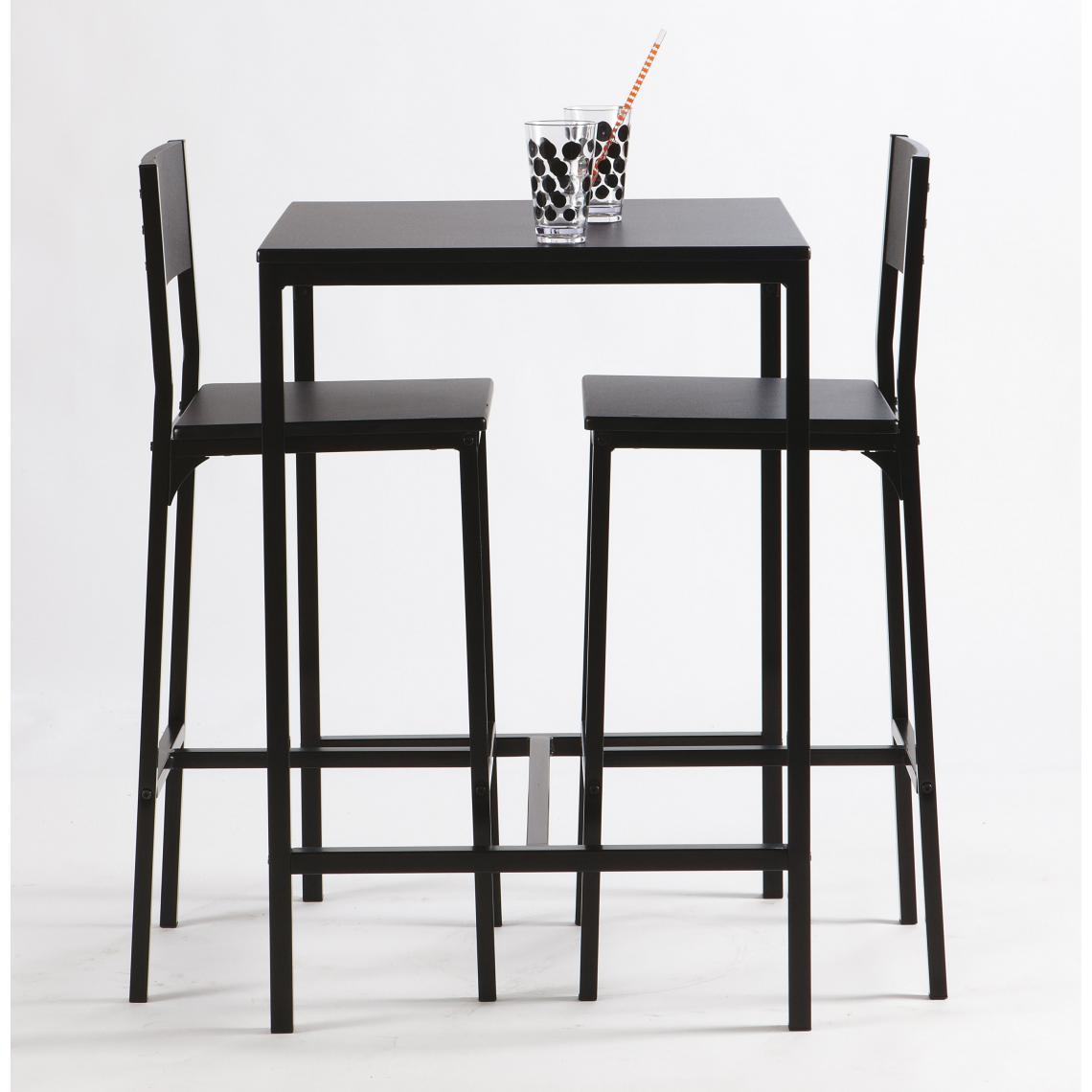 Table Haute Avec Rangement table haute avec 2 chaises funky plus de détails