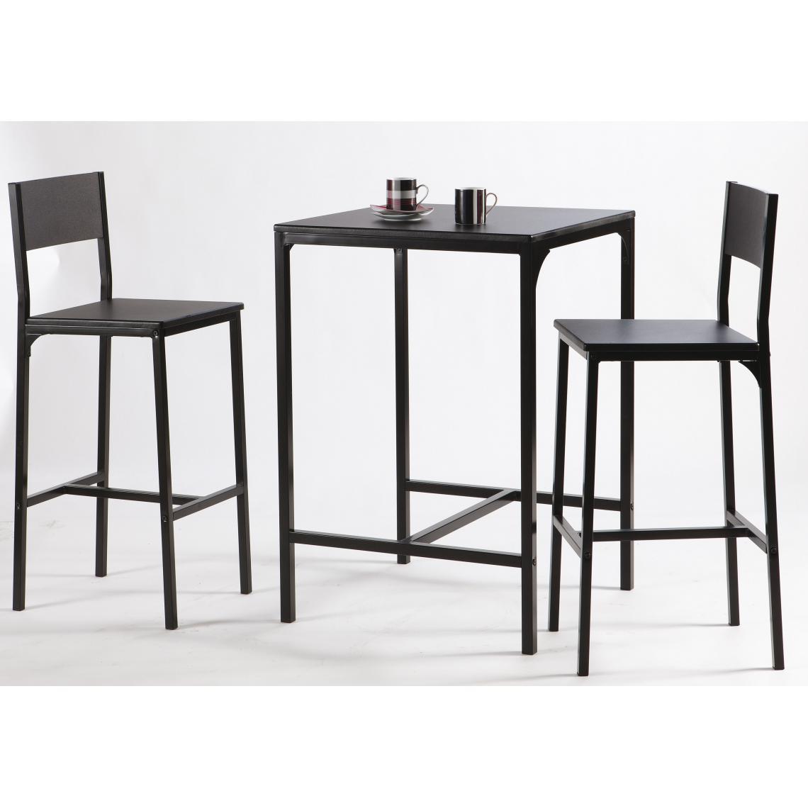 Haute Table Chaises Funky3 Avec 2 Suisses BQxrdCoeW