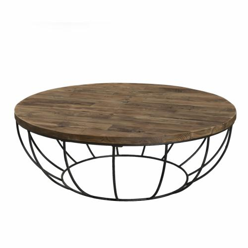 Macabane - Table basse en teck recyclé HEZO - Table basse