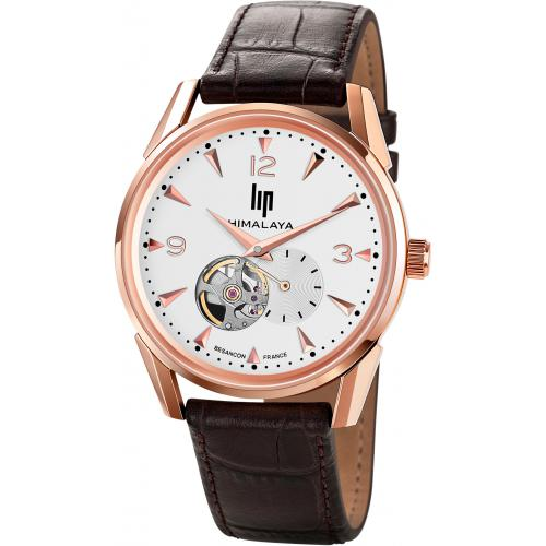 LIP - Montre Lip HIMALAYA 1954 671254 - Montre Ronde Or rose Homme