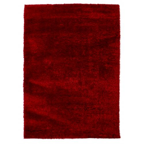 Tapis à Poils Longs Rouge 230x160cm ISALIA Flair Rugs Meuble & Déco