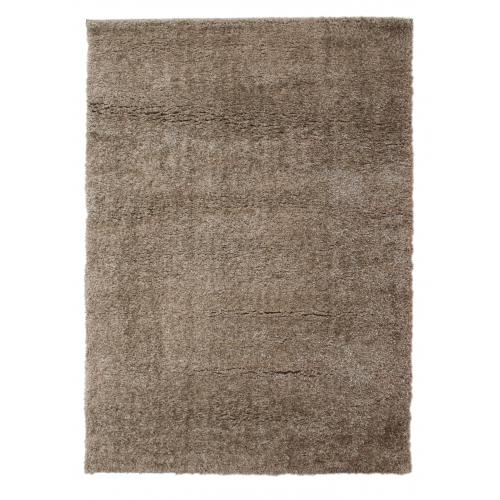Flair Rugs - Tapis à Poils Longs Marron 230x160cm JOUAN - Tapis