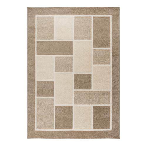 Flair Rugs - Tapis Design Marron 230x160cm ZOUK - Tapis