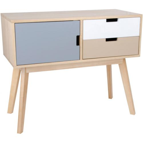 3S. x Home - Commode style scandinave multicouleur MILANO - Dressing & rangement