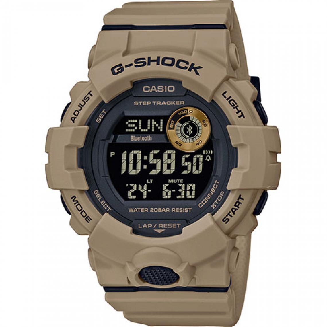 nouveau produit 50fd4 e8da7 Montre Connectée Casio G-Shock GBD-800UC-5ER - Montre Connectée Affichage  Digital Casio Montres