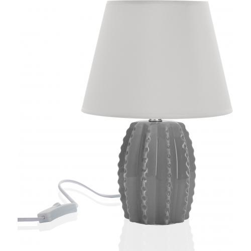 Gris Clara À Poser Lampe Céramique srBtQChdx