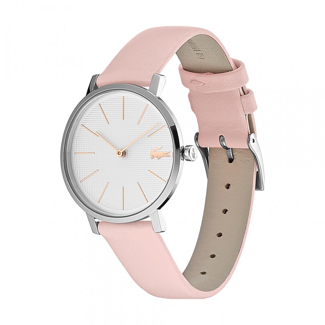 montre femme analogique bracelet cuir