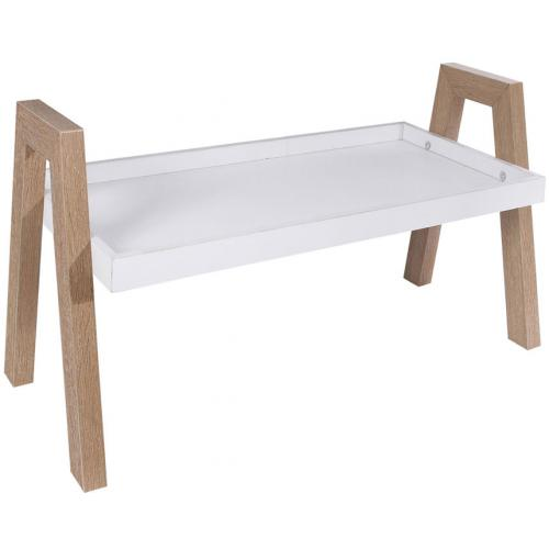 3S. x Home - Etagère Empilable en Bois Blanc ANAT - Le salon