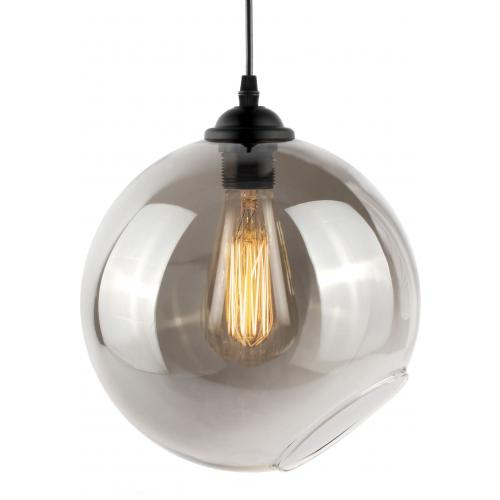 Suspension Globe en Verre Fumé GOBBY
