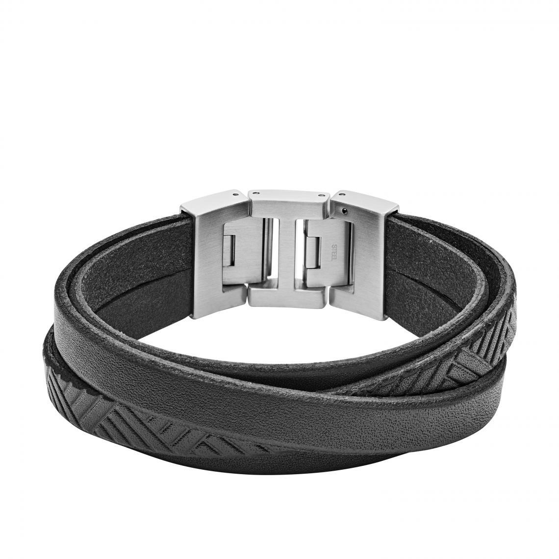 bracelet fossil argent