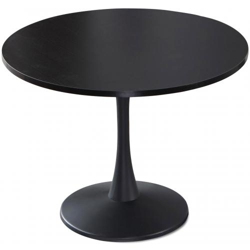 3S. x Home - Table ronde Noir OMBRELLI - Table salle à manger