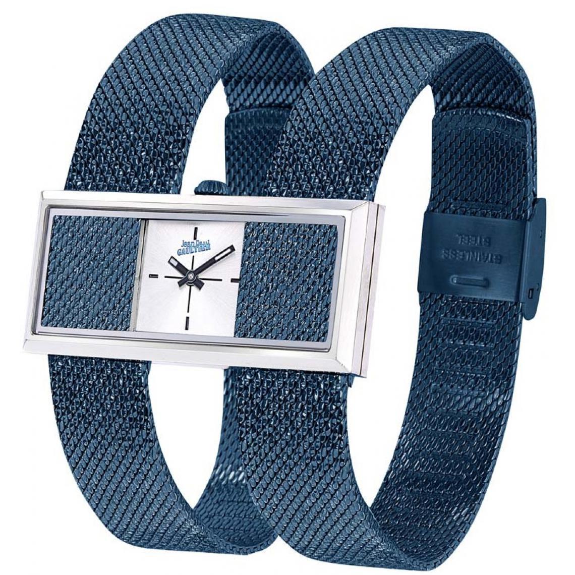 Montre 8505009 - Acier Bleu et Acier Argenté - Jean Paul Gaultier - Modalova
