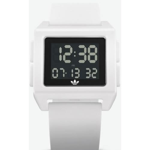 Montre Adidas Originals Z15 100 00 ARCHIVE_SP1 Bracelet Silicone Blanc() Adidas Watches