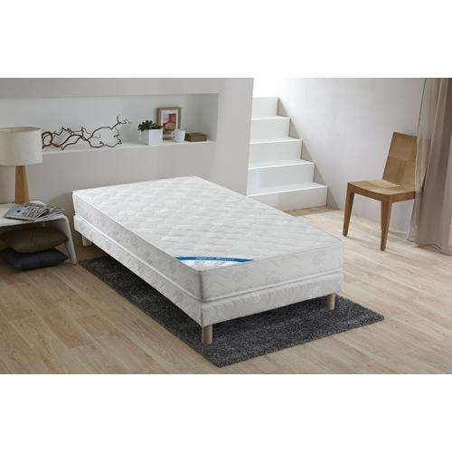Selenia - Ensemble Matelas Ressorts Biconiques PERFORM + Sommier Sélenia - Meuble deco made in france