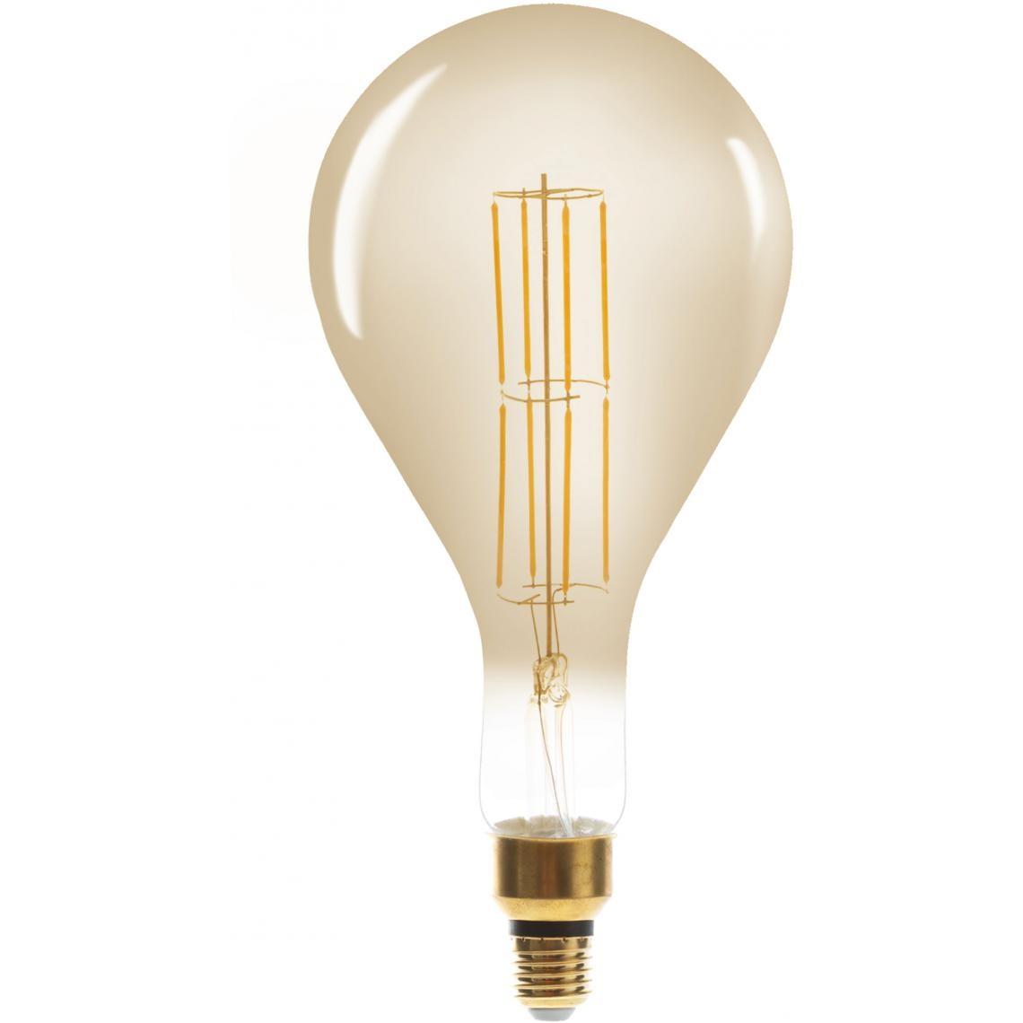 Ampoule Ambrée LED Filaments Droits BELLA