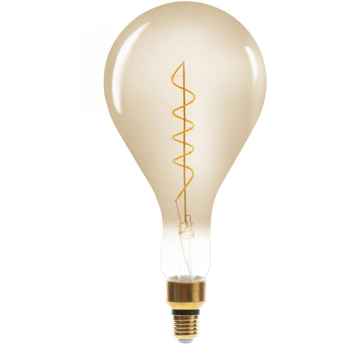 Ampoule Ambrée LED Filaments Torsadés BELLA