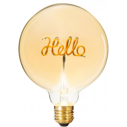 3S. x Home - Ampoule Décorative Hello BELLA - Ampoules