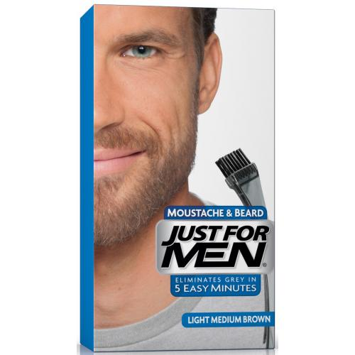 Just for Men - COLORATION BARBE - Chatain Moyen Clair - Soins homme