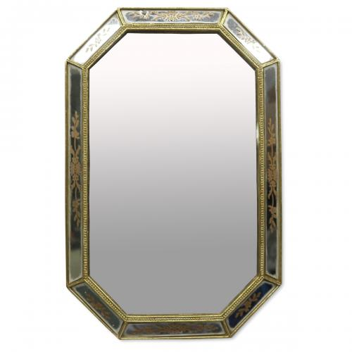 3S. x Home - Miroir Rectangle Doré LOFT - La déco