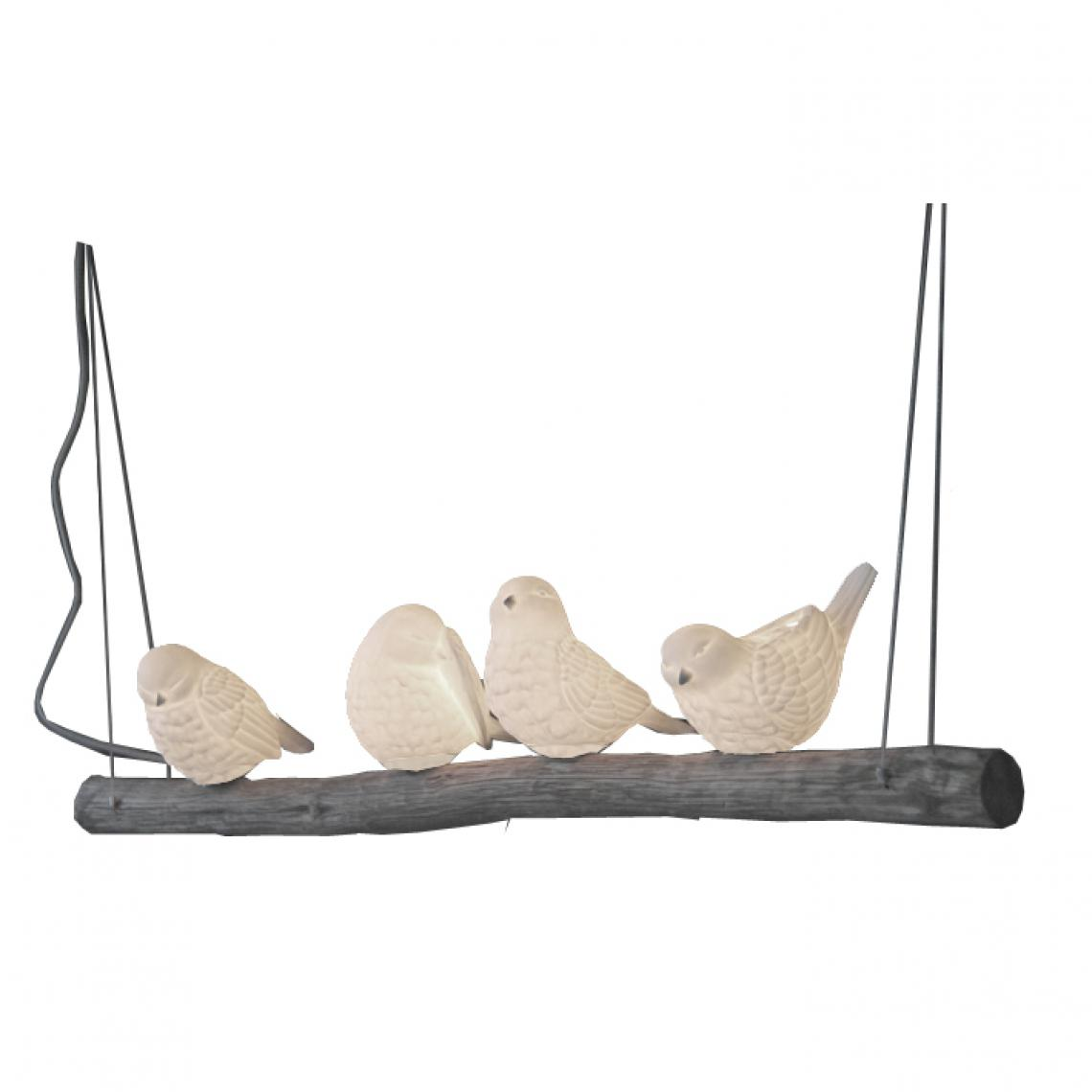 """Nouveau Oiseau Housse de coussin Monochrome 16/"""" Oiseau sur une branche"""