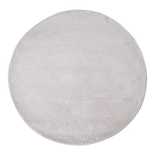 House Nordic - Tapis Rond Blanc 120 cm FLORIDA - House Nordic