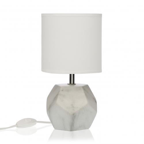 Lampe Décorative Style Scandinave Coloris Blanc H49cm