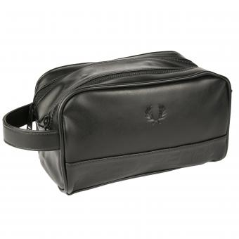 Fred Perry - Trousse de toilette logotypée en relief - Fred Perry Maroquinerie