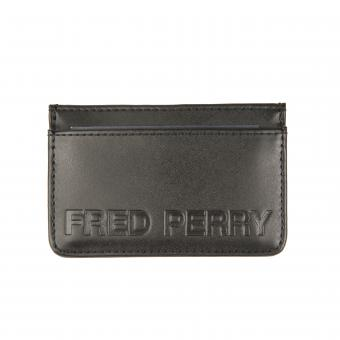 Fred Perry - Porte cartes logotypé en relief - Fred Perry Maroquinerie