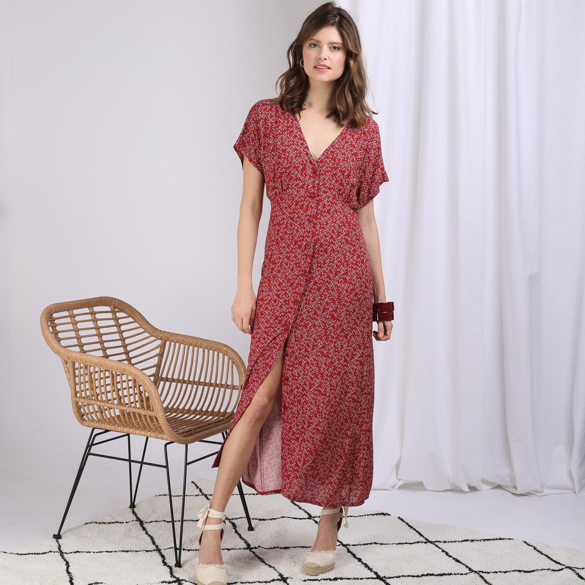 Robe Longue Boutonnee Caly Reedition 3 Suisses