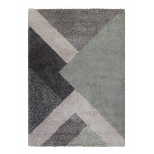 Flair Rugs - Tapis Design Vert Multicolore TANAVO - Tapis