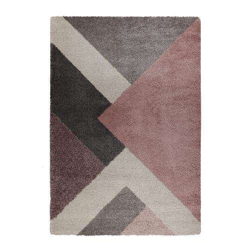 Flair Rugs - Tapis Design Rose Multicolore TANAVO - Tapis