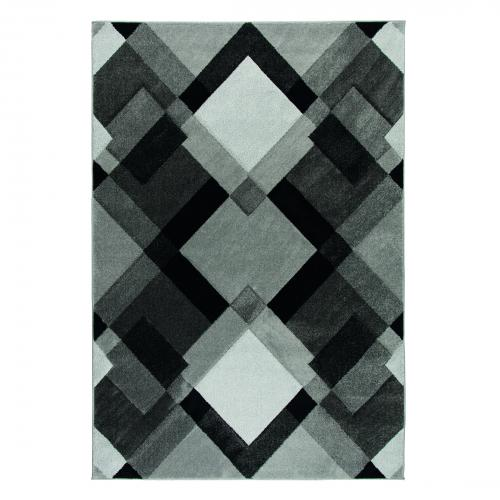 Flair Rugs - Tapis Design Gris AMARI - Tapis