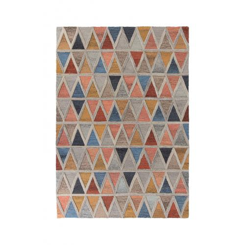 Flair Rugs - Tapis Design Multicolore en Laine ACHIBIA - Tapis