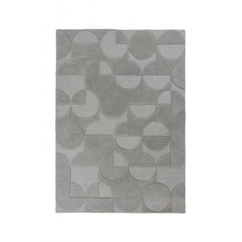 Flair Rugs - Tapis Design Gris en Laine SWEETY - Tapis