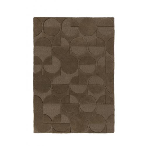 Flair Rugs - Tapis Design Marron en Laine SWEETY - Tapis