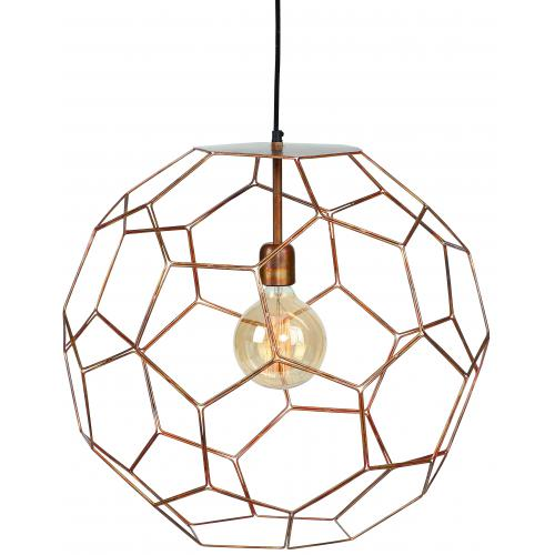 It s About Romi - Lampe Suspendue D.50 cm Métal Cuivre MARRAKESH - La déco
