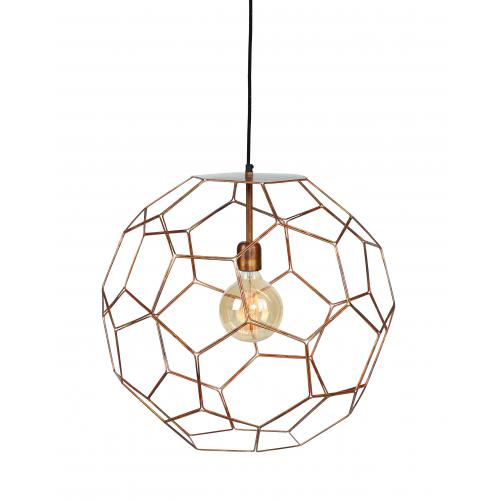 It s About Romi - Lampe Suspendue D.32 cm Métal Cuivre MARRAKESH - La déco
