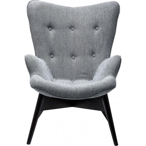 KARE DESIGN - Fauteuil Angels Wings Salt + Pepper eco. - Scandinave