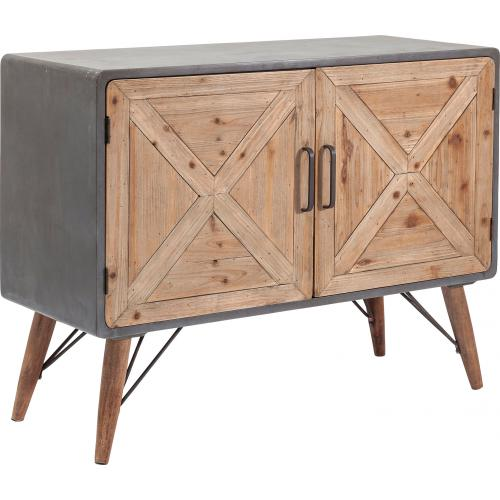 KARE DESIGN - Commode X Factory 2 portes - Commode