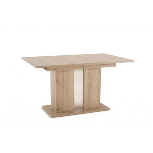 3S. x Home - Table à manger Extensible Bois TORVA - Table extensible