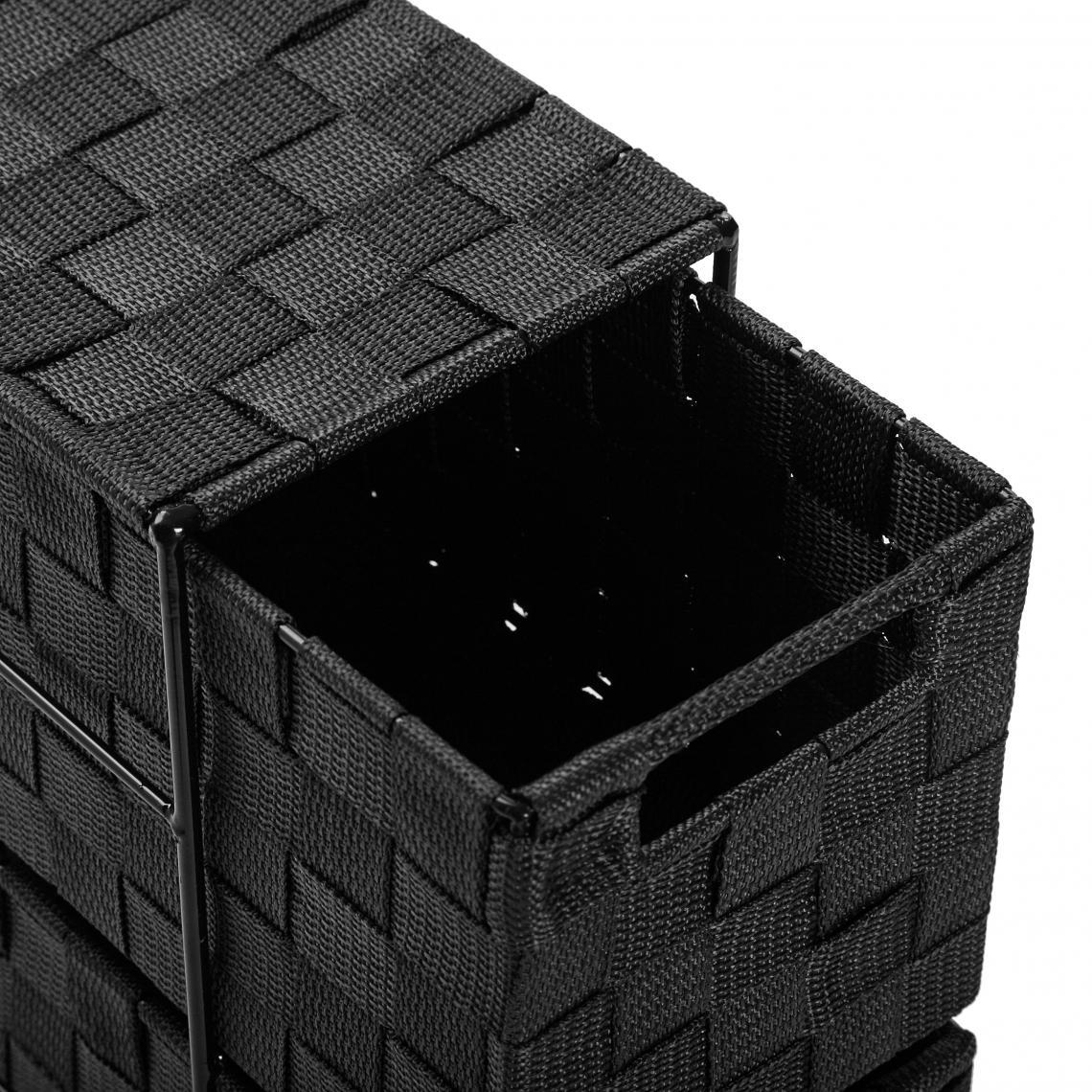 Créer Une Salle De Bain À L Étage rangement de salle de bain 3 étages noir pinson plus de détails