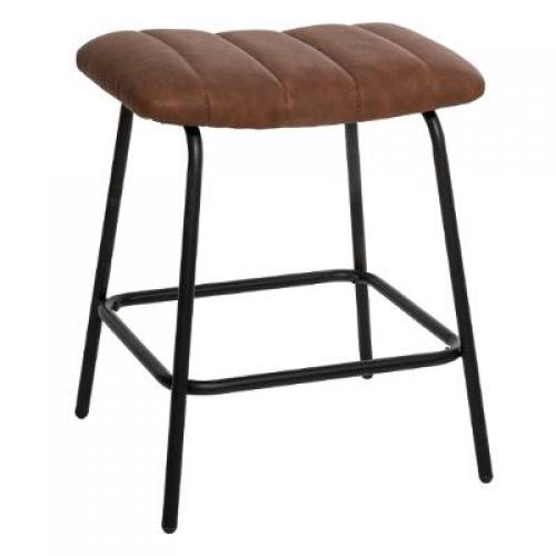 3S. x Home - Tabouret Marron ARM - Tabouret