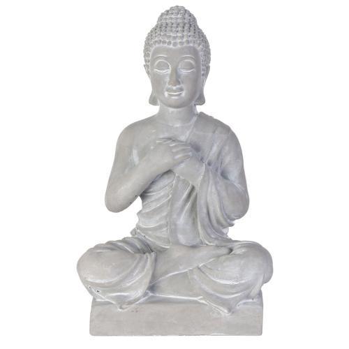 3S. x Home - Figurine décorative bouddha Ciment NAROPA - Statue, figurine