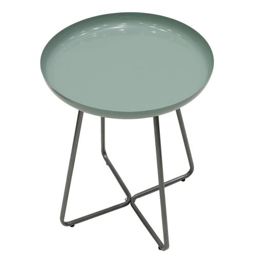 3S. x Home - Table d'appoint Vert D'eau HARLOW - Table basse